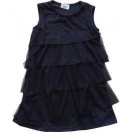 Sukienka Granat z Falbanami