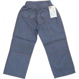 Spodnie Letnie Niebieskie