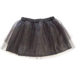 Spódnica tiul czarna brokat