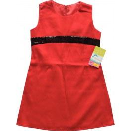 Sukienka Czerwona z Cekinami